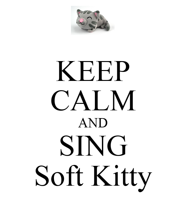 how to sing soft kitty in mandarin