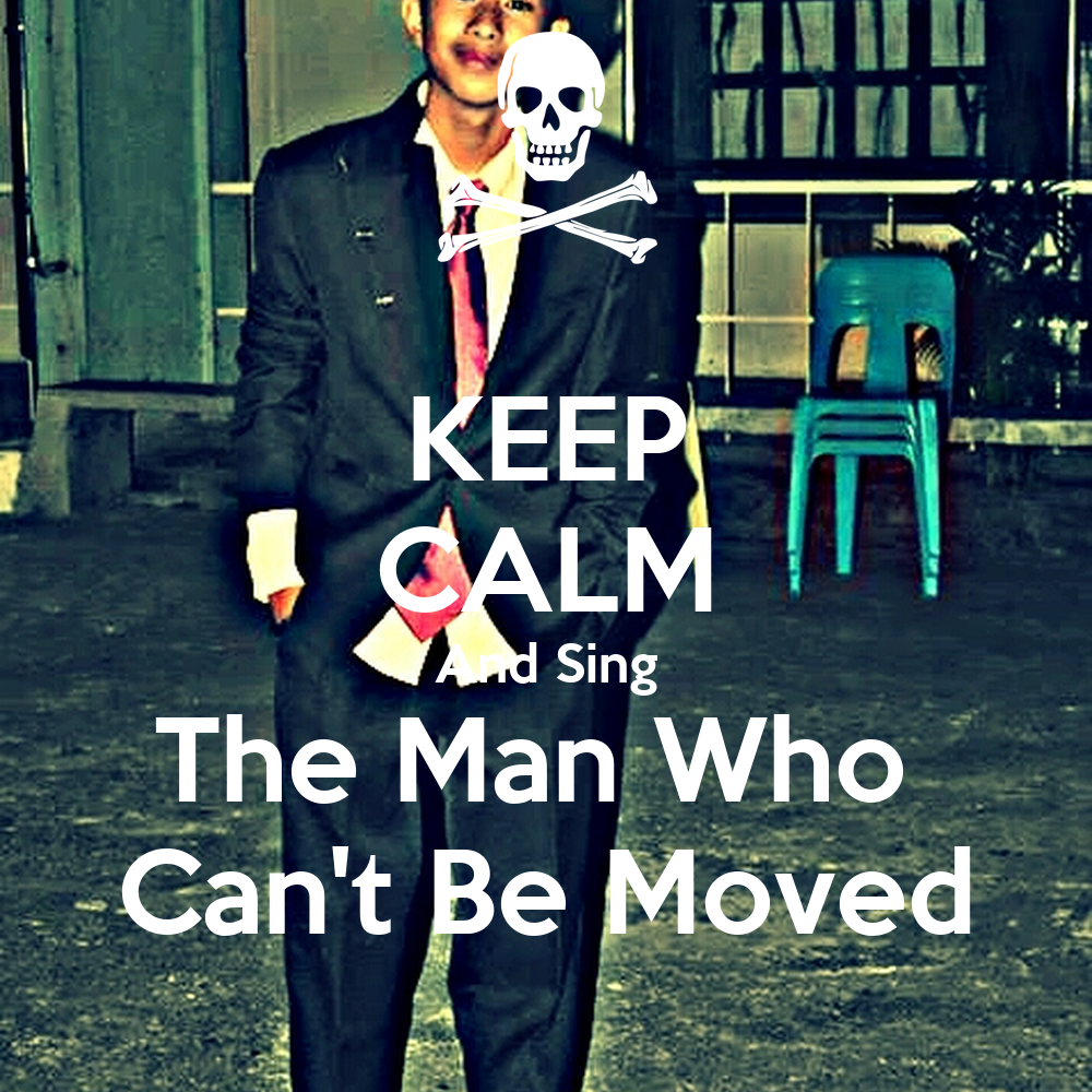 The Man Who Cant Be Moved 87