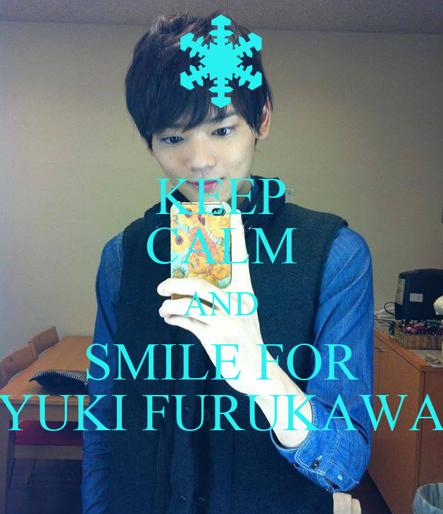 Yuki Furukawa Smile