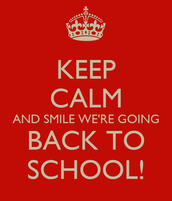 Keep Calm And Smile We're Going Back To School! Poster. Lpn Programs In Chicago Il Pictures Of Shrimp. 2009 Nissan Altima Review Clean Up Bad Credit. We Buy Houses Las Vegas United States Roofing. Phishing Awareness Training Formula 1 Price. Medigap Insurance Quotes Dallas It Consulting. List Of Hotel Management Companies. Virus Spyware & Malware Protection Microsoft Security Essentials. Lexus Certified Pre Owned Houston
