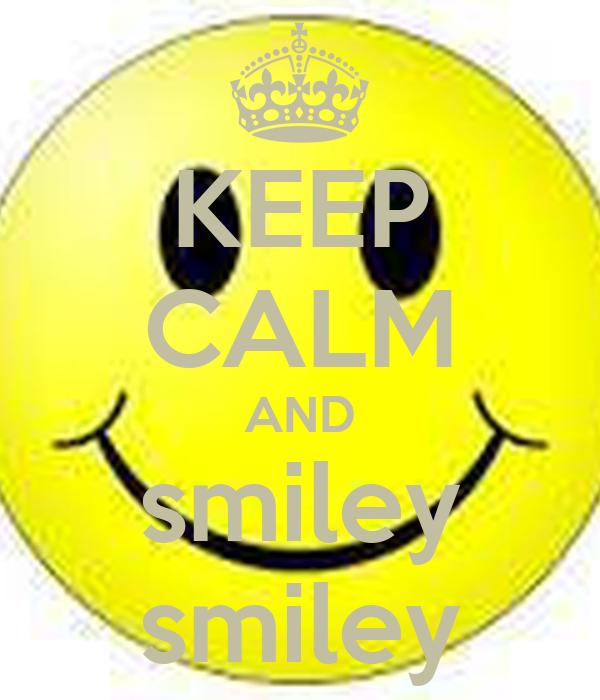 Keep calm emoticon