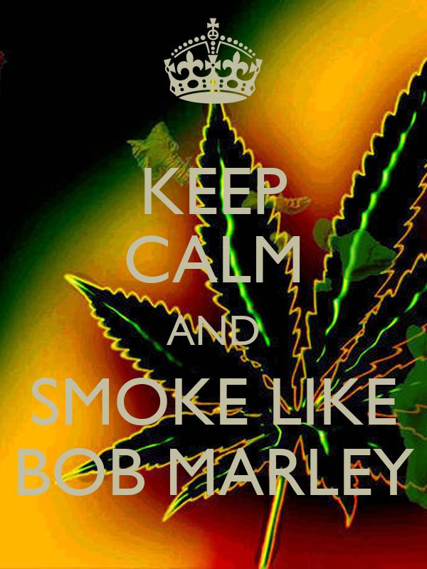 Bob Marley - Smoking Lights Poster Sold at