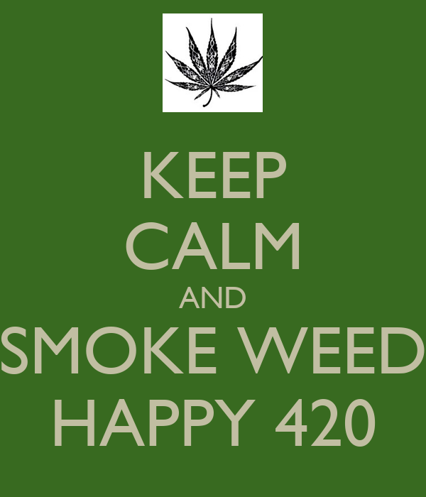 Happy 420 Cards And Smoke Weed Happy 420