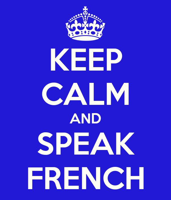 how to speak french translation