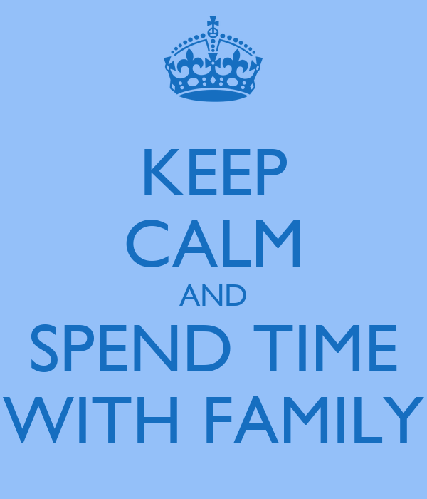 spending time with my family essay Spending time with family vs friends - friendship essay example jennifer baker march 30, 2012 english 1010 ms - spending time.