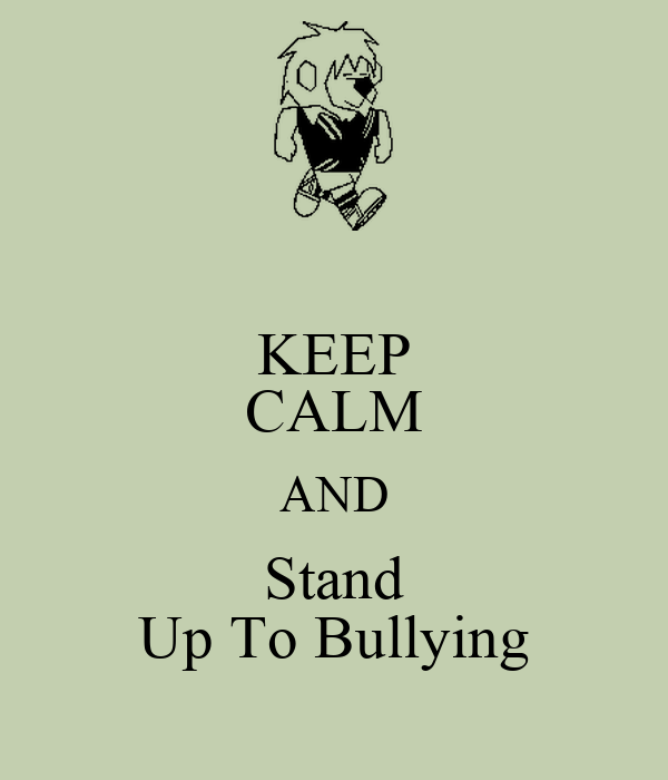standing up that will bullies article checker