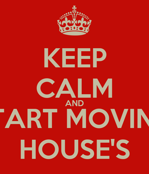 start moving house