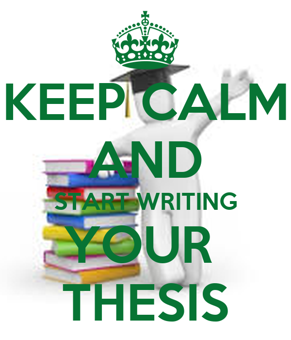 writing your thesis in Receive professional thesis proposal and dissertation help on ukpaperhelpcom writing a thesis is not a problem any more - you can buy it right now.