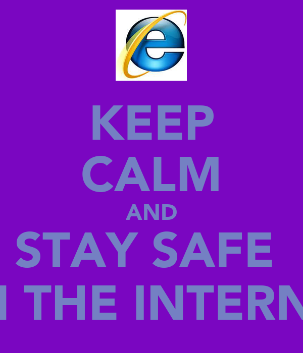 how to keep information safe on the internet