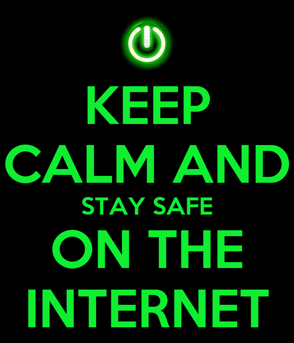 Image result for stay safe on the internet