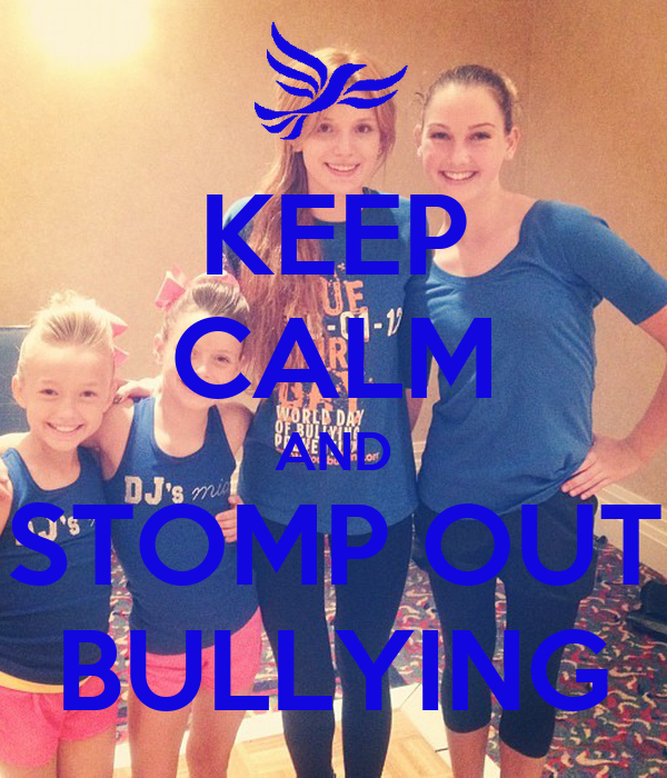 Sugarland Stomp On Bullies: KEEP CALM AND STOMP OUT BULLYING Poster