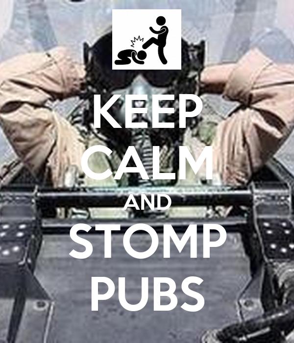 stomp Keep kentucky and calm on