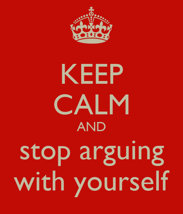 how to keep from arguing in a relationship