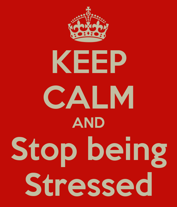 How to stop feeling stressed?