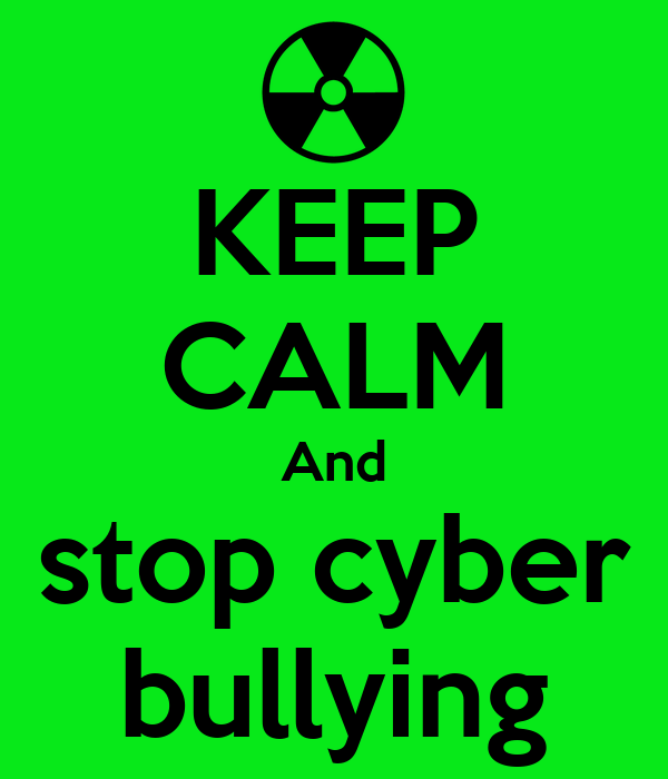 Keep calm and stop cyber bullying poster brooke chapman keep calm