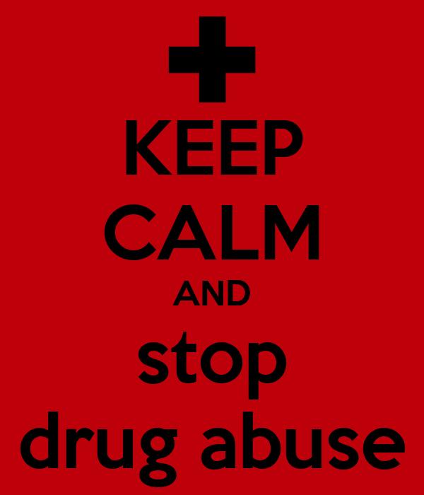 stop drug abuse essay