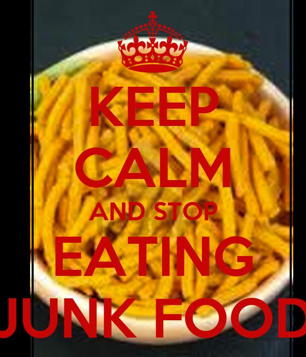 Quit junk food app