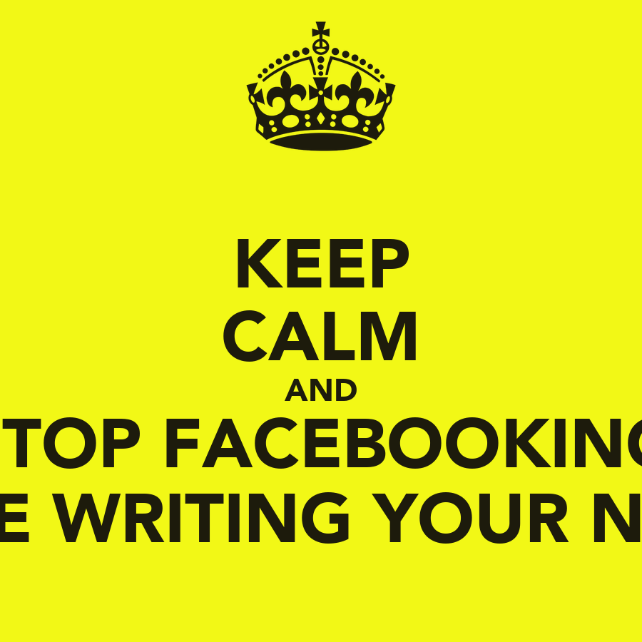 Keep calm and write a novel in one month