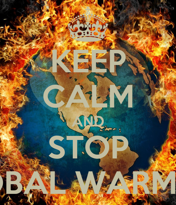 how to stop global warming poster