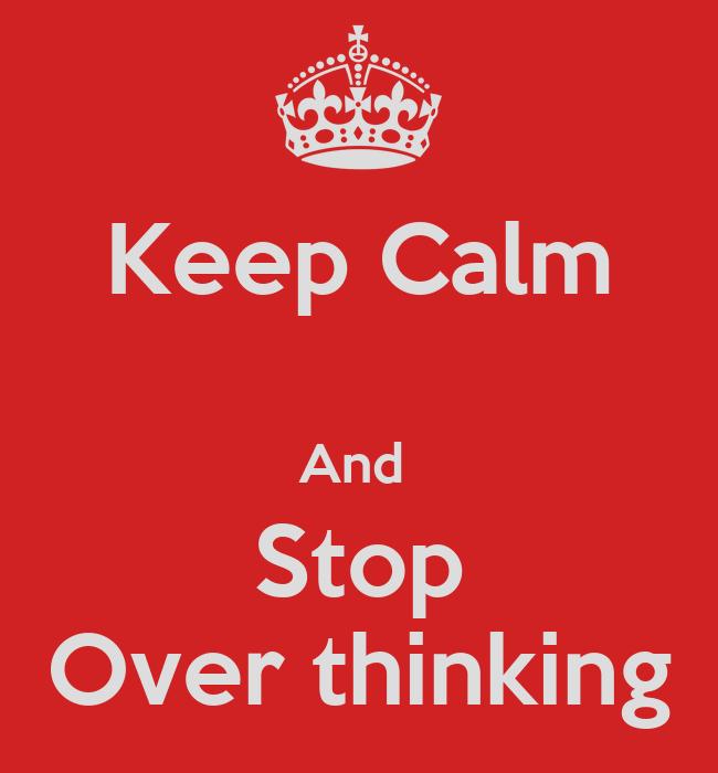 how to stop ruminative thinking