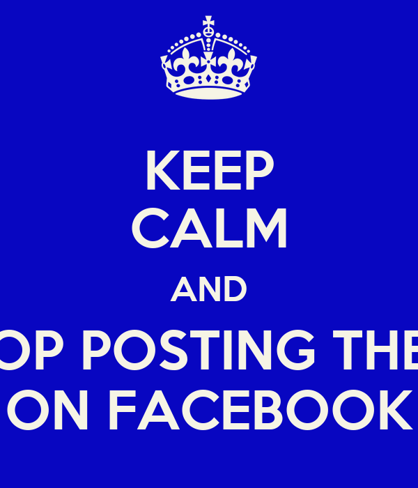 posting essays on facebook The research paper analysed social media oversharing with a focus on facebook,  my personal mantra when posting anything on a social network is.