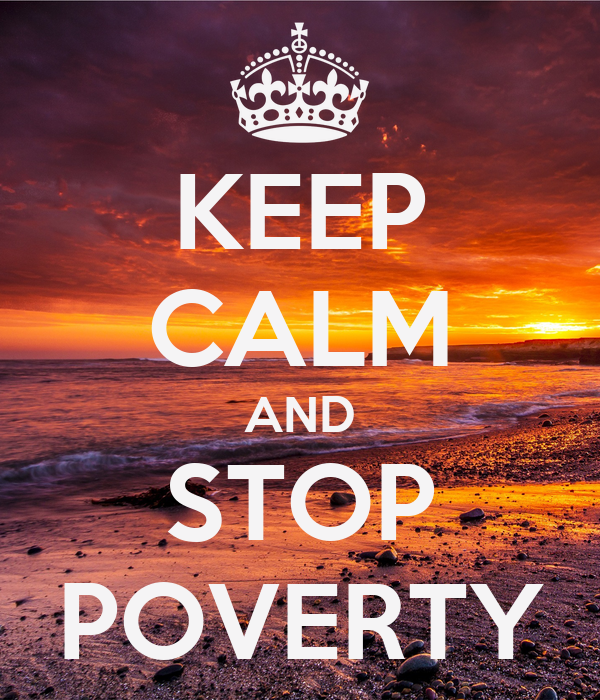 how to help stop poverty