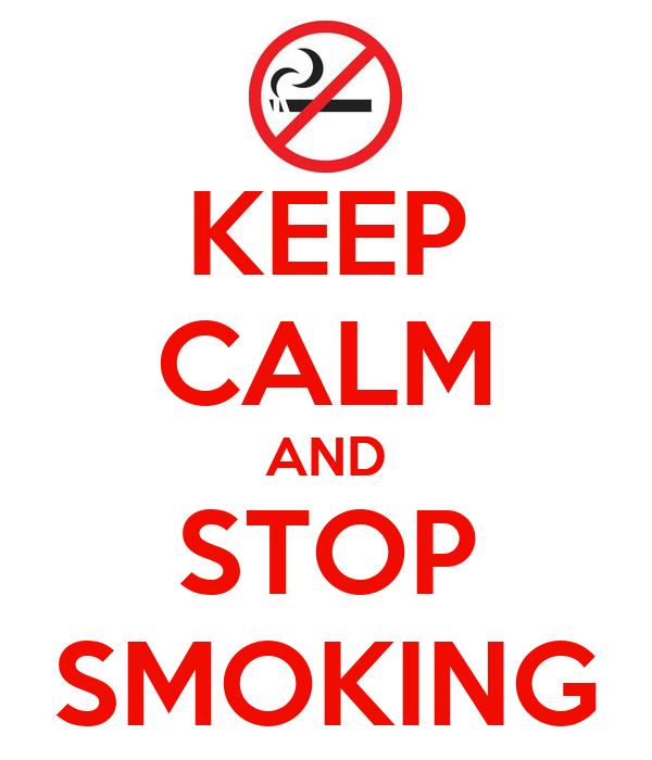 Cartoon Quit Smoking Poster - Quit Smoking3