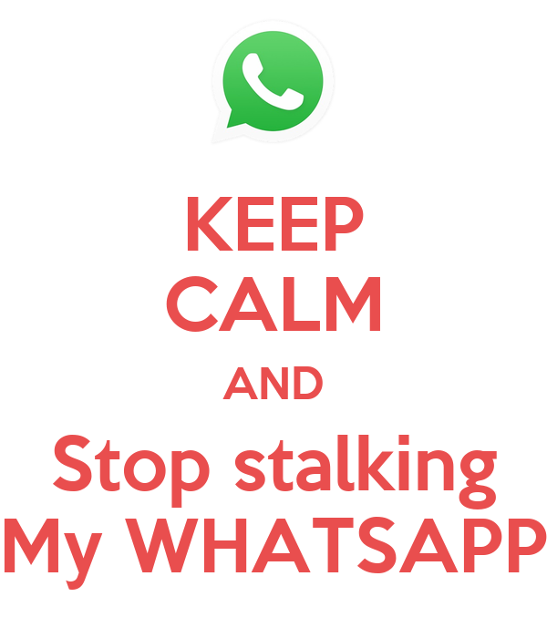 Whatsapp stalking