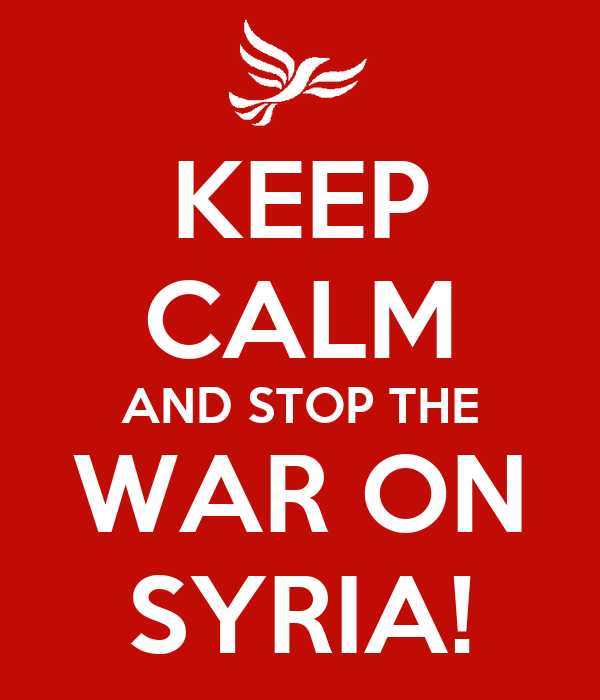 how to stop war in syria