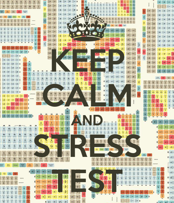 Stress Test Uk: KEEP CALM AND CARRY ON Image