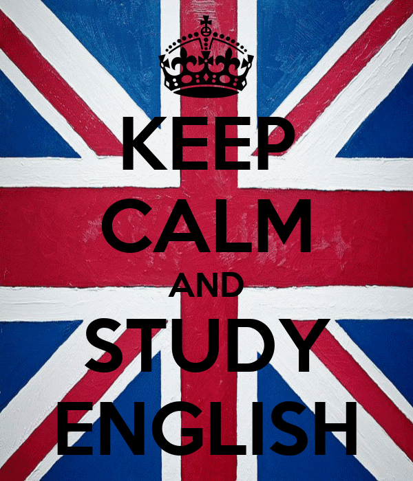Keep calm and study English!