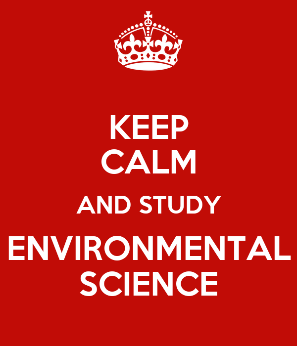 Environmental Science chief undergraduate college subjects