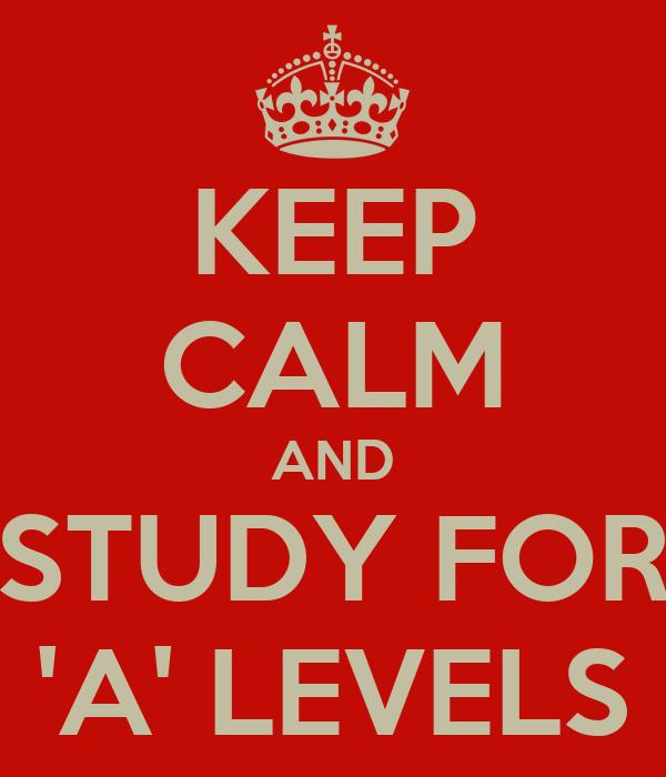 A levels? ? ? ????????????????????