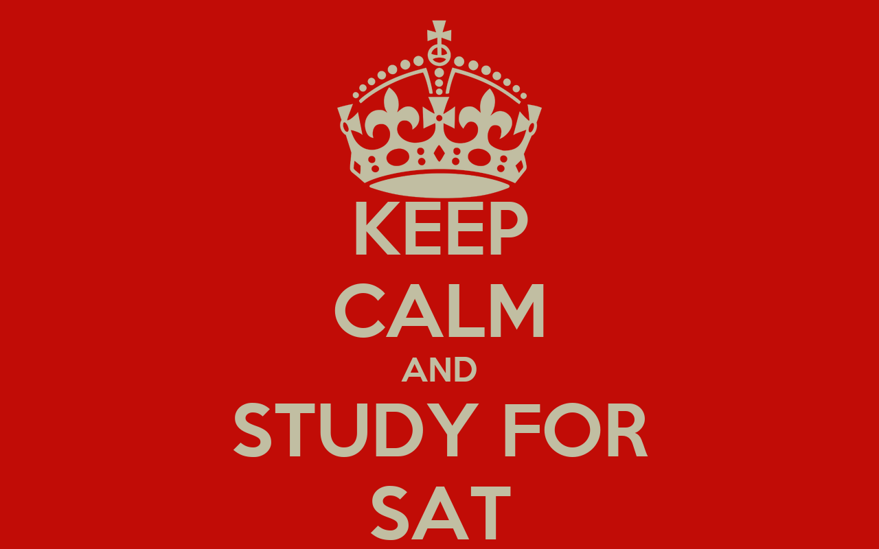 How should I study for the SAT?