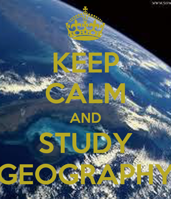 Geography sudy in uk