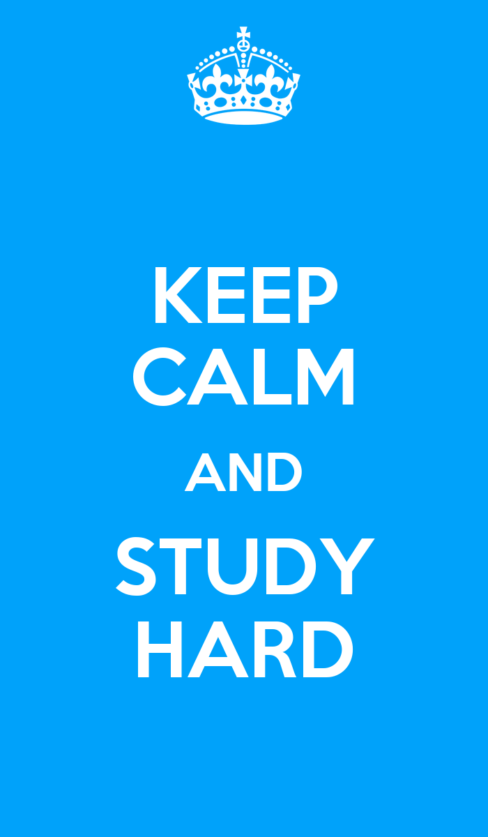 how to be determined to study hard