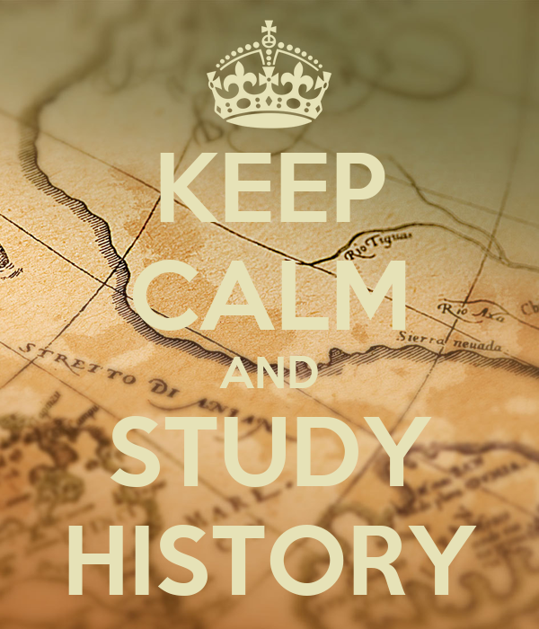 how to make a study guide for history