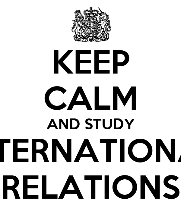 why analyze international relations