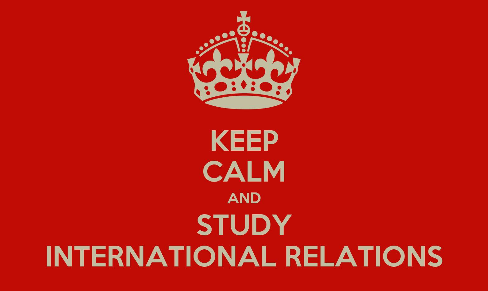 International Relations sudy in uk