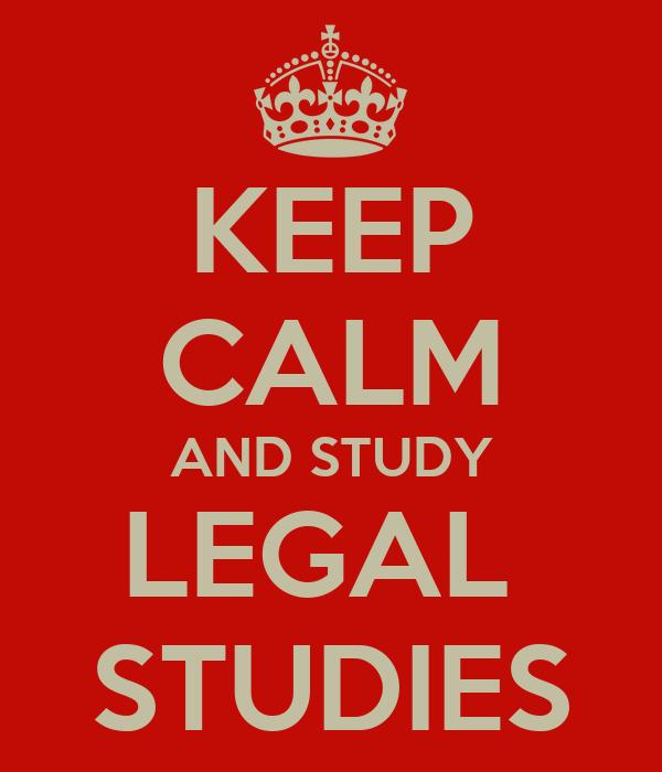 Legal Studies help with me