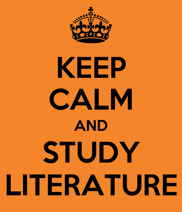 studying literature Creative writing has been a happy part of my life since i first learned to hold a pencil, so once i chose gustavus, i considered my career as an english major a given perhaps i am a rare bird for.