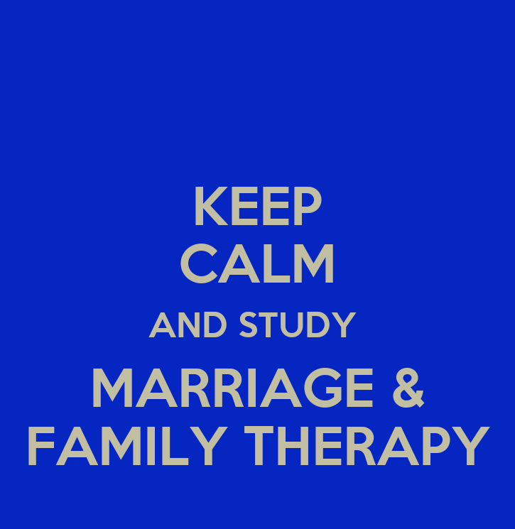 Marriage and Family Therapy sudy in uk