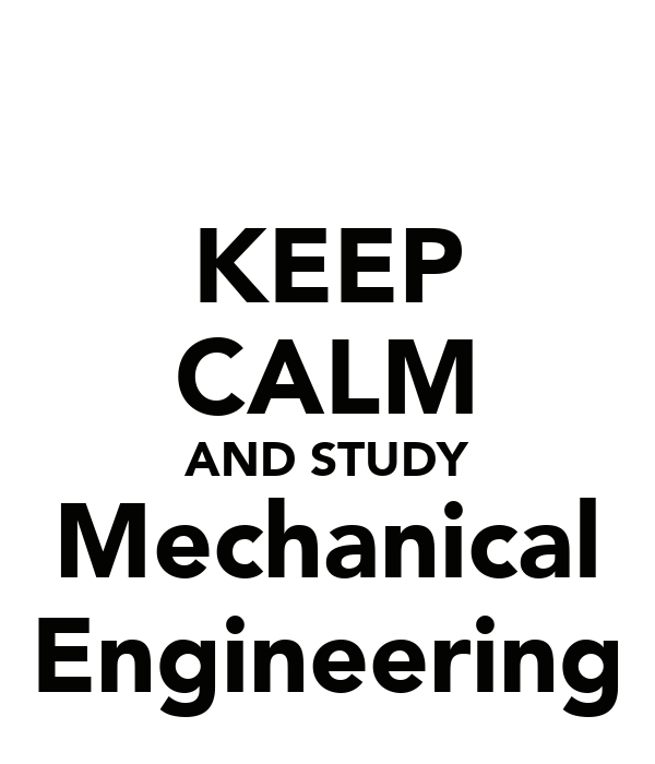 Mechanical Engineering Poster Design