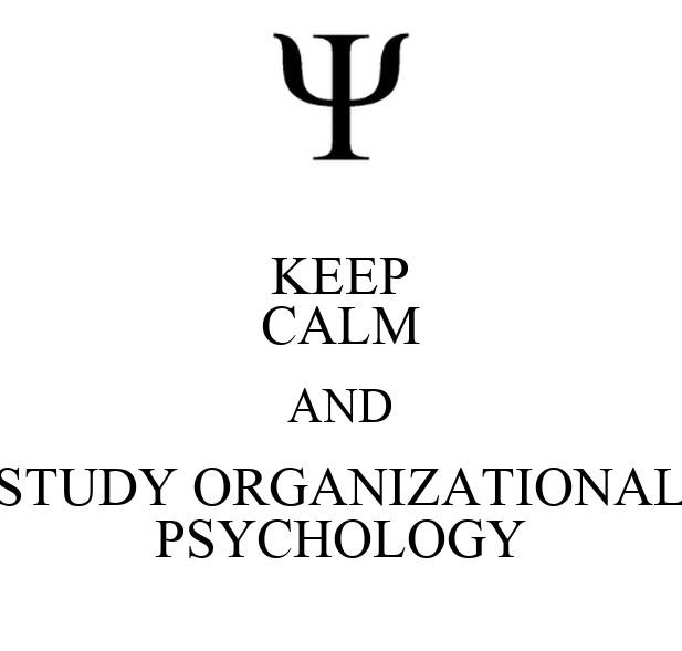 Organizational Psychology sydney university psychology