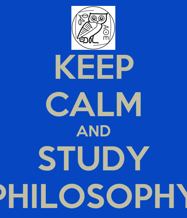 how to study philosophy on your own
