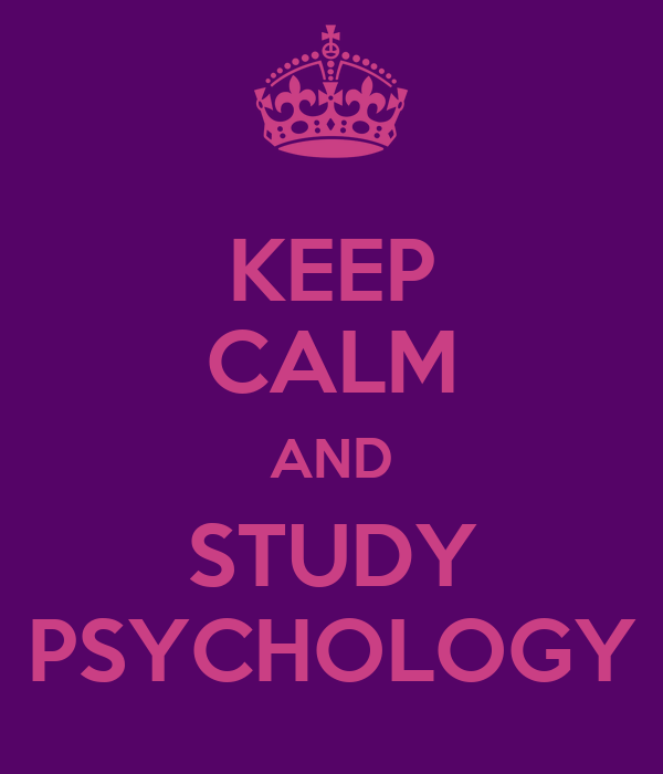 Psychology sudy in uk