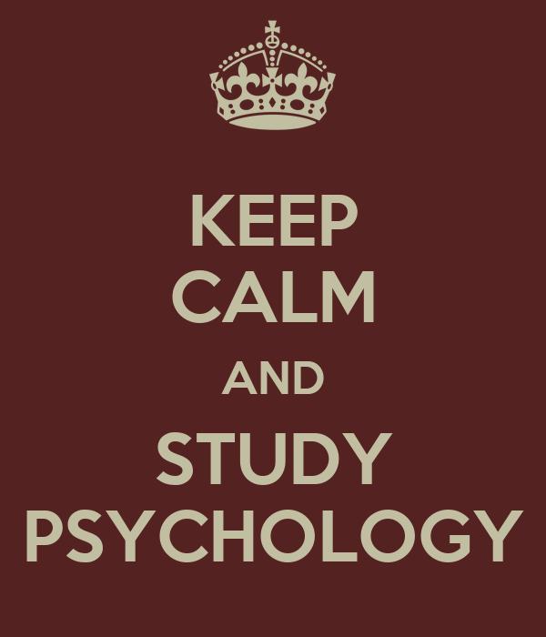 Why study psychology