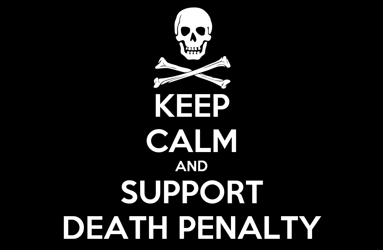 the justifications for keeping the death penalty in america In the us, more than 3,200 people live on death row since 1976, when the  death penalty was reinstated, more than 1,200 people have been executed in the .
