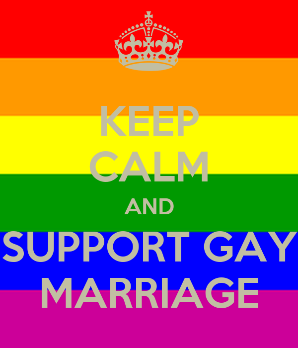 gay marriage support points