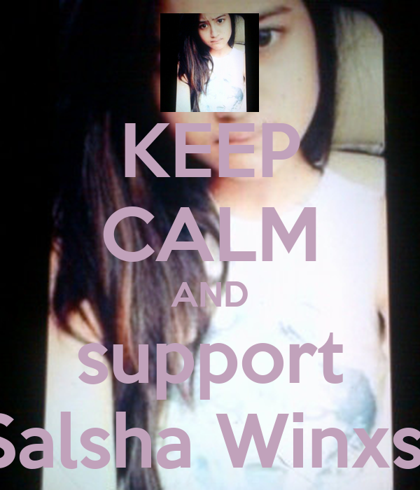 Salsha Winxs And support salsha winxs